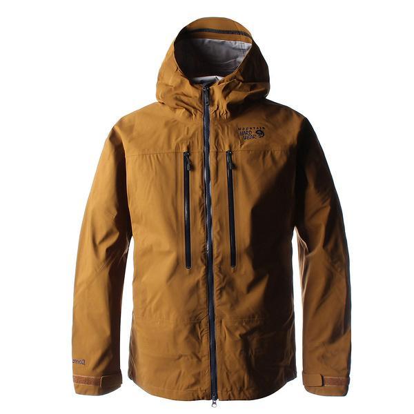 (セール)(送料無料)MOUNTAIN HARDWEAR(マウンテンハードウェア)トレッキング アウトドア 厚手ジャケット ワードピーク3L ジャケットV.4 OE1944-236 メンズ GOLDEN BROWN