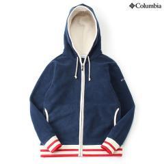 (セール)(送料無料)Columbia(コロンビア)トレッキング アウトドア フリース チェスターポイントウィメンズフーディー PL3055-464 レディース COLLEGIATE NAVY
