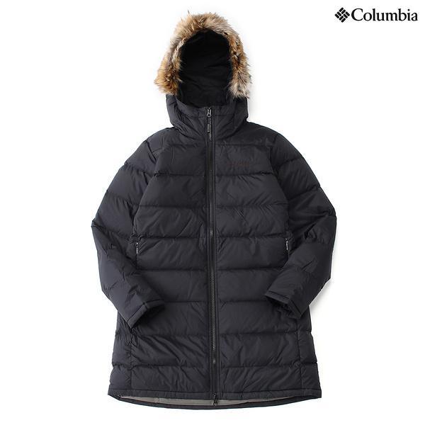 (セール)(送料無料)Columbia(コロンビア)トレッキング アウトドア 厚手ジャケット パンフリーストリームズ?ウィメンズコート PL5055-010 レディース BLACK