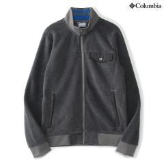 (送料無料)Columbia(コロンビア)トレッキング アウトドア フリース チェスターポイントフルジップジャケット PM1333-003 メンズ BOULDER HEATHER