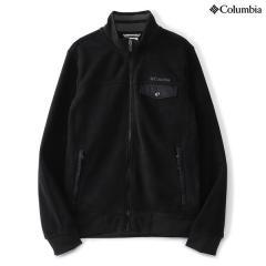 (送料無料)Columbia(コロンビア)トレッキング アウトドア フリース チェスターポイントフルジップジャケット PM1333-010 メンズ BLACK