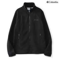 (セール)(送料無料)Columbia(コロンビア)トレッキング アウトドア フリース ドラムクレスト?フルジップトップ PM1334-010 メンズ BLACK