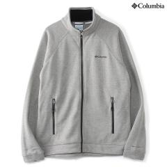 (送料無料)Columbia(コロンビア)トレッキング アウトドア フリース ドラムクレスト?フルジップトップ PM1334-060 メンズ LIGHT GREY