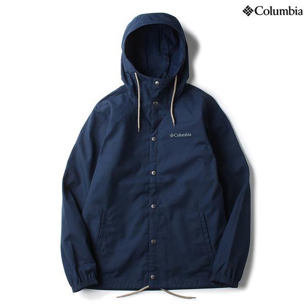 (セール)(送料無料)Columbia(コロンビア)トレッキング アウトドア 厚手ジャケット モリソンロックジャケット PM3178-464 メンズ COLLEGIATE NAVY