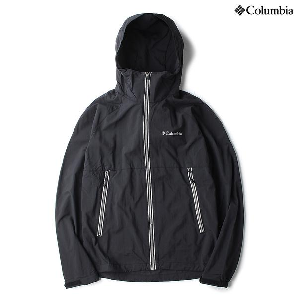 (セール)(送料無料)Columbia(コロンビア)トレッキング アウトドア 薄手ジャケット フロックスリフレクタージャケット PM3197-010 メンズ BLACK