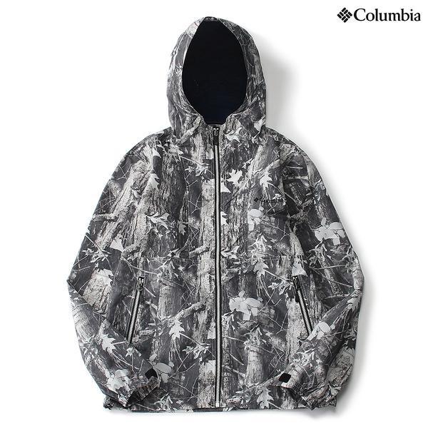 (セール)(送料無料)Columbia(コロンビア)トレッキング アウトドア 薄手ジャケット ヘイゼンハンティングパターンドジャケット PM3911-941 メンズ TIMBERWOLF COOL GREY
