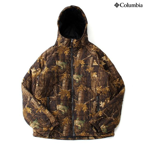 (セール)(送料無料)Columbia(コロンビア)トレッキング アウトドア 厚手ジャケット キュンブグレイシャーハンティングパターンドジャケット PM5382-939 メンズ TIMBERWOLF