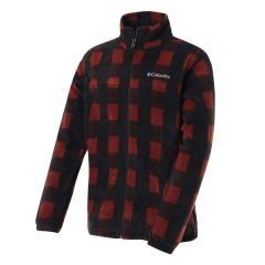 (送料無料)Columbia(コロンビア)トレッキング アウトドア フリース スティーンズマウンテンプリンテッドジャケット WE6017-837 メンズ DEEP RUST PLAID