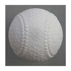 MARU S(マルエス)野球 軟式球 マルエス M号 1個ヘッダーパック S-15704 WHT