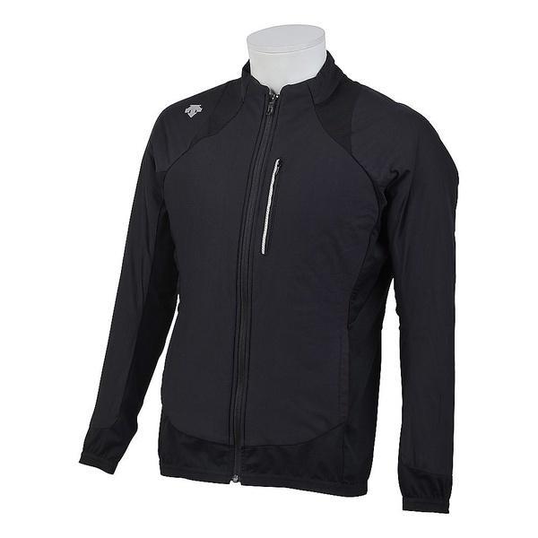 (セール)(送料無料)DESCENTE(デサント)メンズスポーツウェア ウインドアップジャケット MOTION AIR キルティングジャケット DAT-3770 BLK メンズ BLK