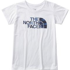 THE NORTH FACE(ノースフェイス)ランニング レディース半袖Tシャツ TNFカモフラージュロゴティー NTW61787 レディース W