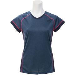 THE NORTH FACE(ノースフェイス)ランニング レディース半袖Tシャツ S/SGTDMELANGEV-NECK NTW11771 レディース UB