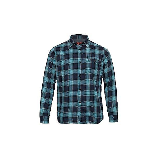 (セール)(送料無料)Marmot(マーモット)トレッキング アウトドア 長袖シャツ BLUE FANNEL SHIRT MJS-F7601 メンズ BGRN