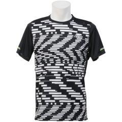 (セール)New Balance(ニューバランス)ランニング メンズ半袖Tシャツ NB ICE ショートスリーブグラフィックTシャツ AMT71224EBW メンズ エクスプローデッドグリッチ/ブラック