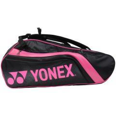 (送料無料)YONEX(ヨネックス)ラケットスポーツ バッグ ケース類 ラケットバッグ6(リュックツキ) BAG1812R ブラック/ピンク