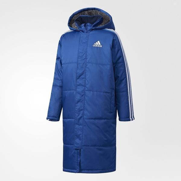 (セール)(送料無料)adidas(アディダス)ジュニアスポーツウェア ボアコート BOYS ESS ボアコート DUW11 CG2235 ボーイズ カレッジロイヤル/ホワイト