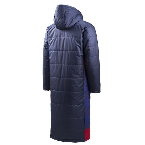 (セール)(送料無料)UMBRO(アンブロ)メンズスポーツウェア 中綿ジャケット グラフィックロングコート UCA1740 NVY メンズ NVY