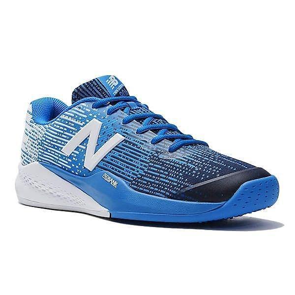 (セール)(送料無料)New Balance(ニューバランス)テニス バドミントン オムニクレー 他 MC906UE34E MC906UE34E メンズ BLUE