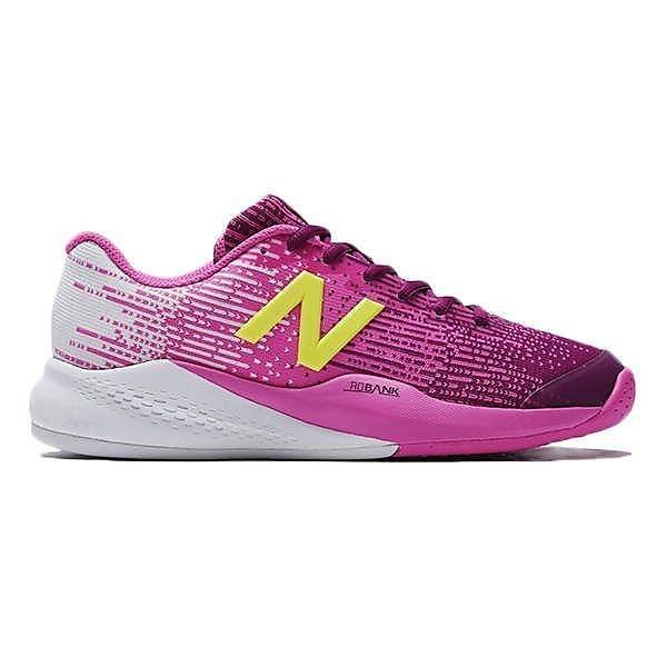 (セール)(送料無料)New Balance(ニューバランス)テニス バドミントン レディースオムニクレー 他 WC906JF32E WC906JF32E レディース PINK/LIME