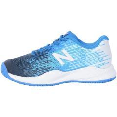 (セール)New Balance(ニューバランス)テニス バドミントン ジュニアテニスシューズ KC996UE3 KC996UE3 ジュニア BLUE
