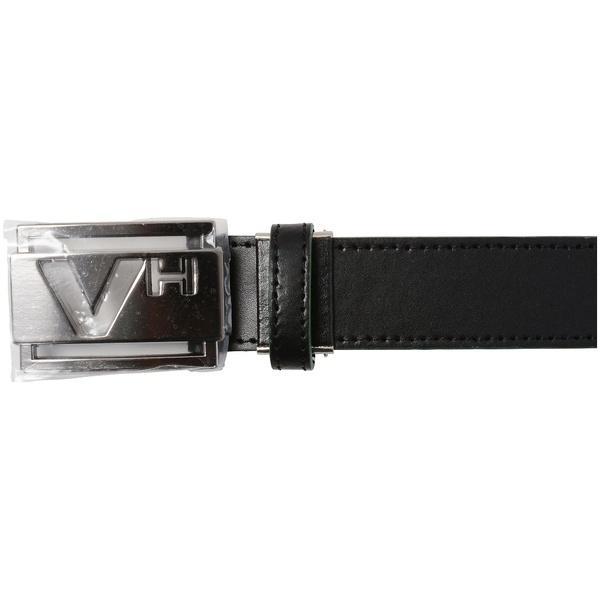 (送料無料)VIVA HEART(ビバハート)ゴルフ アクセサリー メンズレザーVHバックルベルト 013-66830-50-19 メンズ 50 BLACK