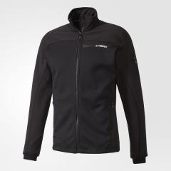 (送料無料)adidas(アディダス)トレッキング アウトドア フリース ストックホーン フリースジャケット BJP49 B47240 メンズ ブラック/ブラック