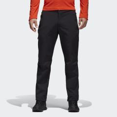 (送料無料)adidas(アディダス)トレッキング アウトドア ロングパンツ オールシーズン パンツ DLN54 BS2459 メンズ ブラック