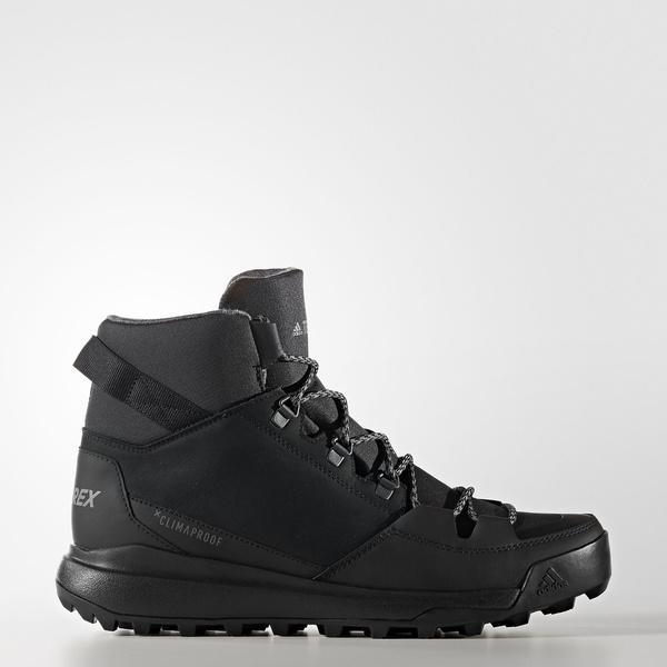 (送料無料)adidas(アディダス)トレッキングシューズ メンズ TERREX WINTERPITCH CW CP CCX18 S80812 メンズ コアブラック/ビスタグレー S15/ナイトメット F13