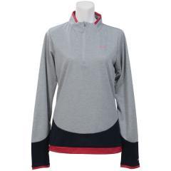 (送料無料)Phenix(フェニックス)トレッキング アウトドア 長袖Tシャツ ボトムカラードロングスリーブジップモック PH762LS61 HEGR レディース HEGR