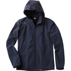 (セール)(送料無料)canterbury(カンタベリー)メンズスポーツウェア ウインドアップジャケット STRETCH SOFTSHELL RP77533 29 メンズ NVY
