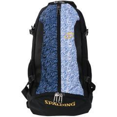 (送料無料)SPALDING(スポルディング)バスケットボール バッグ ケイジャー ウォリアーズ SA 40-007WA F BLACK