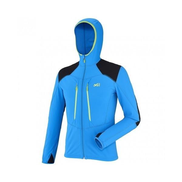 (セール)(送料無料)MILLET(ミレー)トレッキング アウトドア 薄手ジャケット ピエラ メント ジャケット MIV7041 2909 メンズ ELECTRIC BLUE