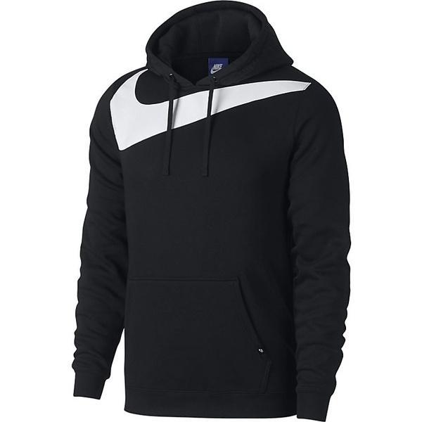 (送料無料)NIKE(ナイキ)メンズスポーツウェア ジャケット ナイキ フリース ハイブリッド プルオーバー フーディ 861715-010 メンズ ブラック/(ホワイト)