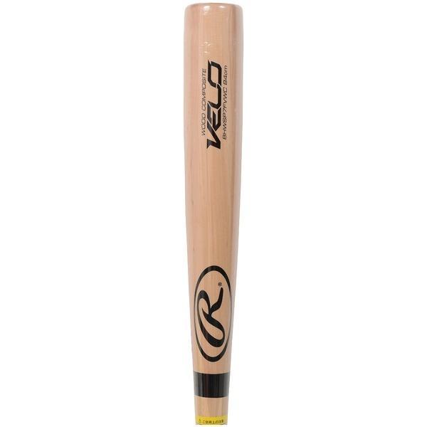 (セール)(送料無料)Rawlings(ローリングス)野球 硬式木製バッド コウシキモクセイ ラミ BHWSP7FVWC-NAT-84 84 ナチュラル