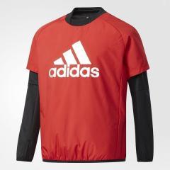 (送料無料)adidas(アディダス)サッカー ジュニアその他アパレル BOYS TRN CLIMIX パデッドプルオーバー DUV98 CD2801 ボーイズ スカーレット