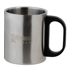 10%OFFクーポン対象商品 (セール)Alpine DESIGN(アルパインデザイン)キャンプ用品 テーブルウェアアクセサリー ダブルステンレスマグカップ 300 AD-S18-402-020 クーポンコード:KZUZN2T