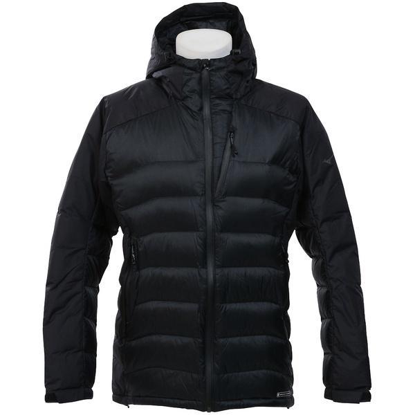 (セール)(送料無料)MIZUNO(ミズノ)トレッキング アウトドア 厚手ジャケット ブレスサーモ クロスヒートダウンジャケット A2ME754509 メンズ ブラック