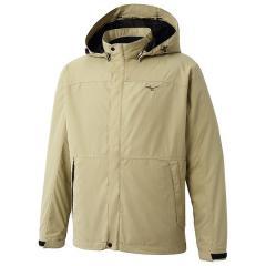 (送料無料)MIZUNO(ミズノ)トレッキング アウトドア 薄手ジャケット ブレスサーモ サーモシェルジャケット A2JE651650 メンズ オリーブベージュ