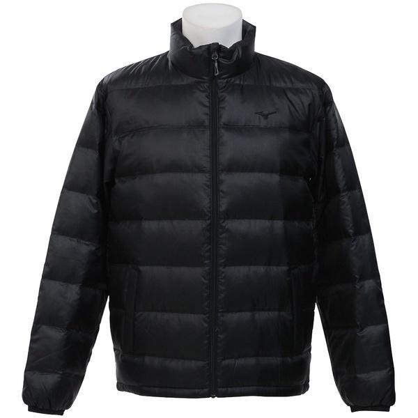 (セール)(送料無料)MIZUNO(ミズノ)トレッキング アウトドア 厚手ジャケット ブレスサーモダウンジャケット C2JE760109 メンズ ブラック