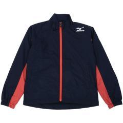 (送料無料)MIZUNO(ミズノ)野球 ジュニアウインドジャケット/コート 17AW SMU JRウィンドセット 12JG7X9114 ボーイズ ネイビーxレッド