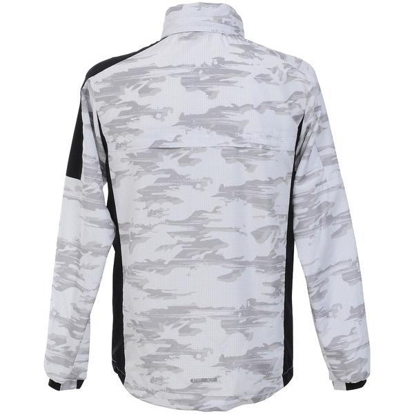 Number(ナンバー)ランニング メンズウインド ウィンドジャケット NB-S18-302-005 メンズ カモリップホワイト