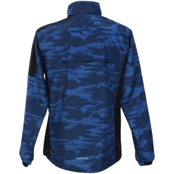 (セール)Number(ナンバー)ランニング メンズウェア ウィンドジャケット NB-S18-302-005 メンズ カモリップブルー