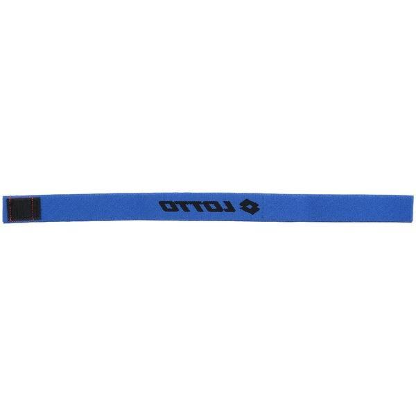 10%OFFクーポン対象商品 LOTTO(ロット)サッカー ストッキングアクセサリー ストッキングベルト LO-Y18-102-005 25MMx370MM ブラック/ブルー クーポンコード:KZUZN2T