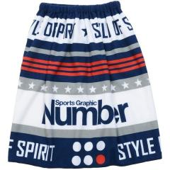 (セール)Number(ナンバー)スイミング プールバック 巻きタオル 60?マイクロファイバー巻きタオル NB-S18-301-004 ジュニア ネイビー