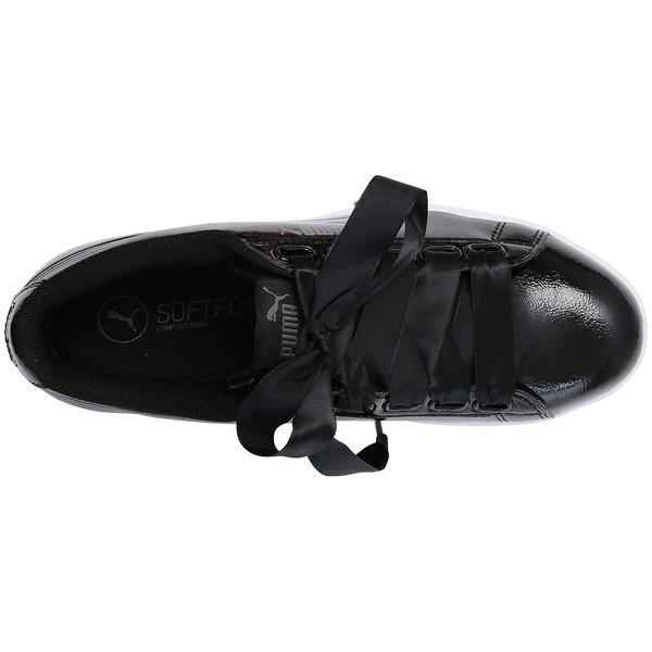 (送料無料)PUMA(プーマ)シューズ カジュアル プーマ ビッキー リボン P 36641701 レディース ブラック/ブラック