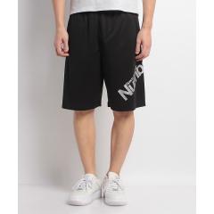 ナンバー バスケットボール メンズ 半袖Tシャツ NUMBER ビッグロゴショーツ NB-Y18-103-012 メンズ ブラック/シルバー