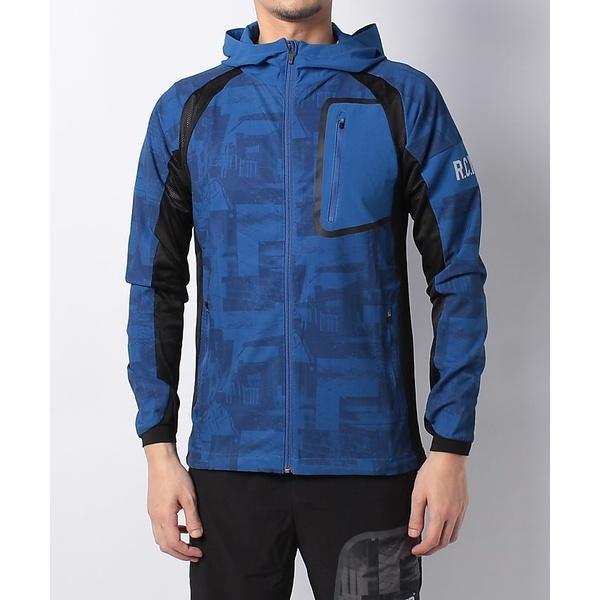 (セール)Number(ナンバー)ランニング メンズウェア RUNハイブリッドジャケット NB-S18-302-067 メンズ ブルー