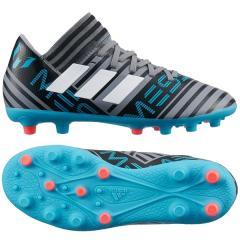 (セール)adidas(アディダス)サッカー ジュニアスパイク ネメシス メッシ 17.3-ジャパン HG J EOR26 CQ1907 ボーイズ グレー/ランニングホワイト/コアブラック