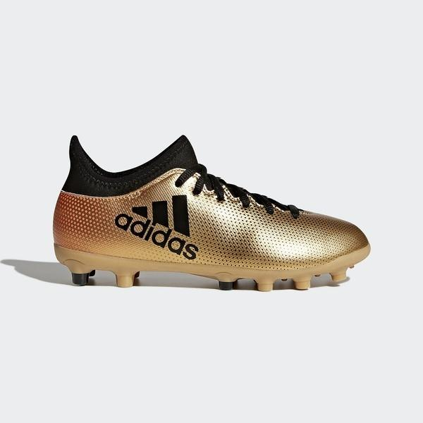 (送料無料)adidas(アディダス)サッカー ジュニアスパイク エックス 17.3-ジャパン HG J EFM57 CQ1979 ボーイズ タクティルゴールドメランジF17/コアブラック/ソーラーレッド