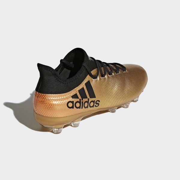 (送料無料)adidas(アディダス)サッカー スパイク エックス 17.2-ジャパン HG DWN15 CQ1990 メンズ タクティルゴールドメランジF17/コアブラック/ソーラーレッド